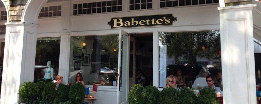 Babette restaurant East hampton