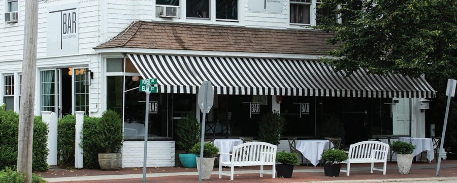 T bar restaurant Southampton